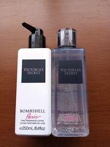 Victoria's Secret Bombshell Paris Fragrance Mist & Lotion Set of 2 *New*