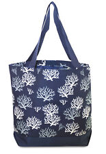 Sea Coral Womens Travel Tote Bag Purse Handbag Shopping Gym Work School
