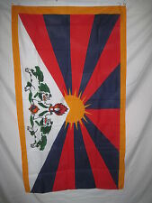 Tibetan National Flag 3 X 5 3x5 Feet New In Package Polyester