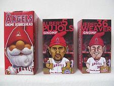 Los Angeles Angels Baseball Angels, Pujols, Weaver Gnome SGA - New