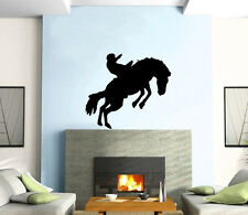 Cowboy Wild West Western Mural Wall Art Decor Vinyl Sticker z220