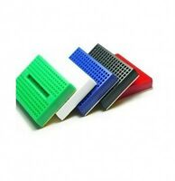 100pcs SYB-170 Mini Breadboard Colorful Breadboard Prototype Board Small Plates