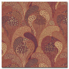 Vienna Workshops Archive Gustav Klimt Red Gold Heavy Duty Upholstery Fabric