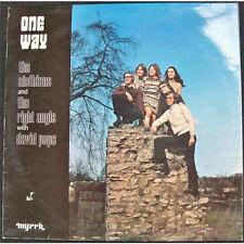 One Way - The Alethians (Myrrh UK, 1972) early Jesus music LP Christian vg+
