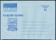 2587 Falkland Islands Ps Stationery Air Letter Aerogramme Unused Sheep Mammal