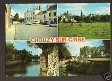CHOUZY-sur-CISSE (41) MAIRIE, VILLAS & JARDIN PUBLIC