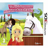 The Whitakers present Milton and Friends Nintendo 3DS and 3DS XL Brand New