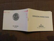 Operating instructions Omega speedmaster PRO cal. 1861 & 1863 circa 2000