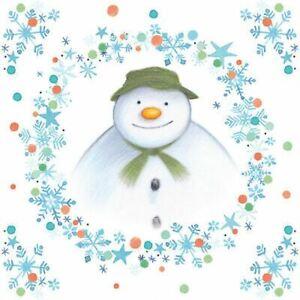 The Snowman Christmas Paper Party Napkins x 20