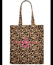 NEW Ashley Stewart NEW Hot Pink Leopard Purse Tote Bag Satchel Animal Print