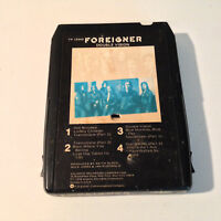FOREIGNER - Double Vision - 8-Track Tape - VG  RARE!!