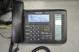 Panasonic KX-NT556-B Phone Black Backlit 6-line w/ Handset & Stand