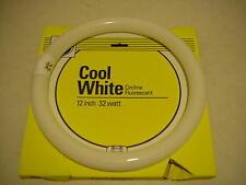 "Lot of 24 GE Cool White 32 watt Circline 12"" Fluorescent Light Bulb Bulbs NEW"