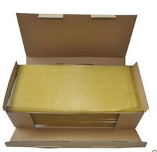30 Sheets of Beeswax foundation-Perfect for Candle rolling - Naturally Fragrant