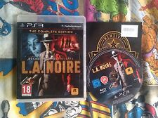 L.A. Noire The Complete Edition PS3 Playstation 3