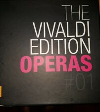 Vivaldi Edition Operas, Vol. 1 (CD, Nov-2008, Opus 111) 27 cd boxed set used