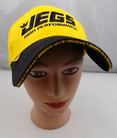 JEGS High Performance Hat Yellow Adjustable Baseball Cap Pre-Owned ST142