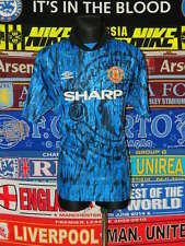 4.5/5 Manchester United adults XL 1992 away football shirt jersey trikot
