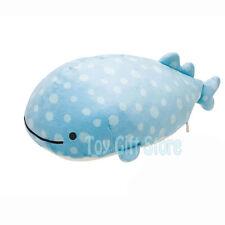 "Jinbei San Smiling Whale Shark 9"" Plush Doll Stuffed Toy"