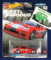 Hot Wheels - '95 MAZDA RX-7 - Fast and Furious - Full Force 1/64