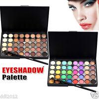 40 Colors Professional Matte Eyeshadow Shimmer Eyeshadow Palette Makeup Set Kit