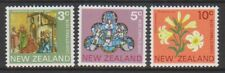 New Zealand - 1974, Christmas set - L/M - SG 1058/60
