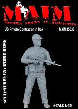 Entrepreneur privé américain en irak/échelle 1/35 résine militaire modèle kit pmc