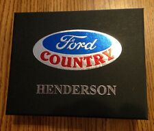 Ford Country New Car Welcome gift