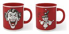 More details for official dc comics his and hers batman joker & harley quinn tea coffee mugs