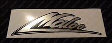Suits Holden HSV VG VP Maloo - Body Decal/Sticker Chrome/Black.  Screen Printed