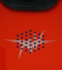 MV AGUSTA 750 F4  FUEL TANK TOP DECAL STARS