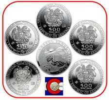 2012 2013 2014 Armenia Noah's Ark 1oz Silver 500 Drams Coins airtites