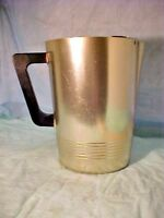 Regal Ware Pitcher SUPREME Vintage Gold Colored Aluminium WATER/DRINK ICE Guard