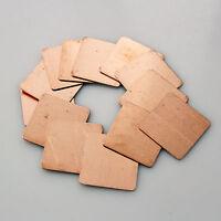 1PCS New Heatsinks Cooling Copper Heatsinks Pad Shim Laptop CPU Copper Sheet