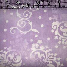 Fabric Quilt Backing 108 inch wide by the yard 100% Cotton Purple Free Shipping