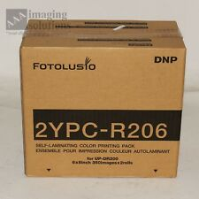 DNP 2YPC-R206 Print Pack for Sony UP-DR200 Dye Sublimation Printer - 700 6x8's