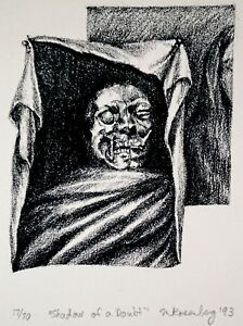 """Creepy Limited Edition Print 17/70 """"Shadow of a Doubt"""" Rosenberg '93"""