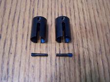 2- Traxxas 1/10 E-Revo VXL 2.0 Steel Drive Cups & Pins Front / Rear Diff 86086-4