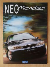 FORD MONDEO RANGE 1996 Greek Mkt sales brochure