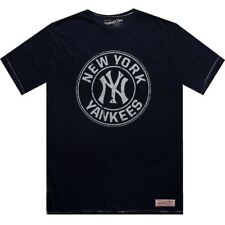 $50.00 Mitchell And Ness New York Yankees Short Sleeve Tee (navy / cream) 3118A-