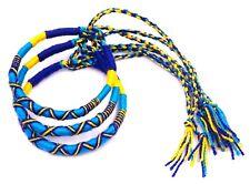 Lot de 3 Bracelet brésilien Amitié Coton Macramé Porte Bonheur  bleu turquoise