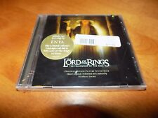 THE LORD OF THE RINGS The Fellowship of the Ring Soundtrack RARE Cover CD NEW