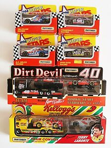 #MB209 2 Nascar Team Convoy sets plus 4 extra cars - 10 vehicles