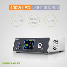 New 100W LED Light Source 300W Xenon Comparable CRI92 Fiber Cable