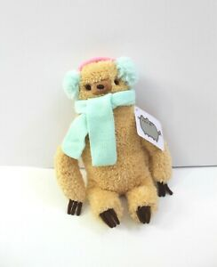 "Gund Pusheen's BFF Small Winter Sloth Plush Stuffed Toy 8"""