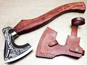 *New* Ragner Viking Axe Warrior Berserker Norse Axe Astru Pagan Lothbrok Bearded