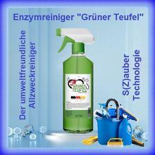 Enzymreiniger Grüner Teufel 500 ml inkl. Sprühkopf | Bekannt aus TV Werbung