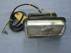 NOS 1956 PLYMOUTH PARK LIGHT with LENS RH PLAZA SAVOY BELVEDERE Mopar 1648316