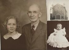 #4-25 Old Vintage Pictures Photos Album People Kids Family Scrapbook Collection