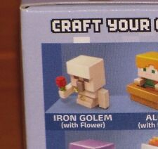 Sealed Iron Golem with Flower MINECRAFT Ice Series 5 Mini-Figure Mystery 1-Pack
